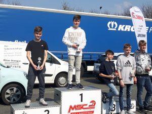 Kartslalom Sauerlandpokal_Theo Stahlhacke OAC Platz 2