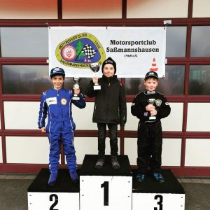 K1-Fahrer Marlon Kaufmann auf Platz 2