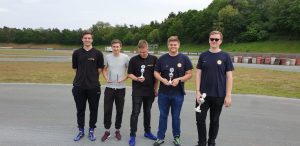 Das Youngster-Team in Warendorf