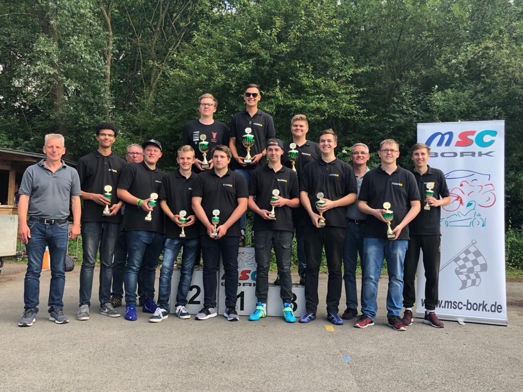Siegerehrung ADAC Youngster YoungDriver