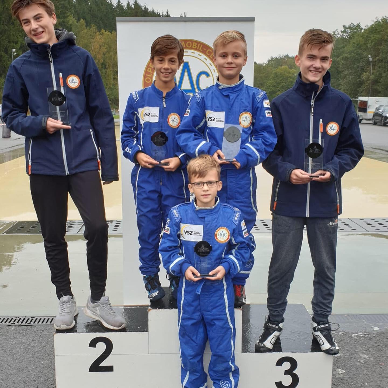 Jugendgruppe OAC_Endlauf Kartslalom Olpe_Team