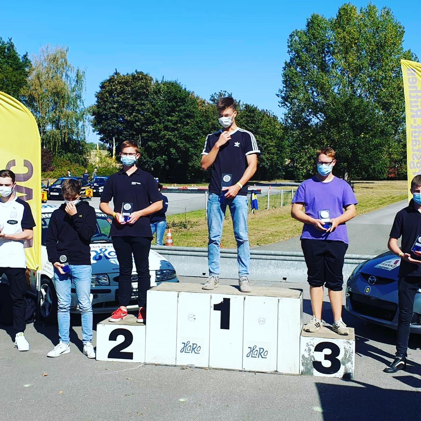Jugendgruppe OAC 20-09 Youngster Junioren Paul Engel Platz 2